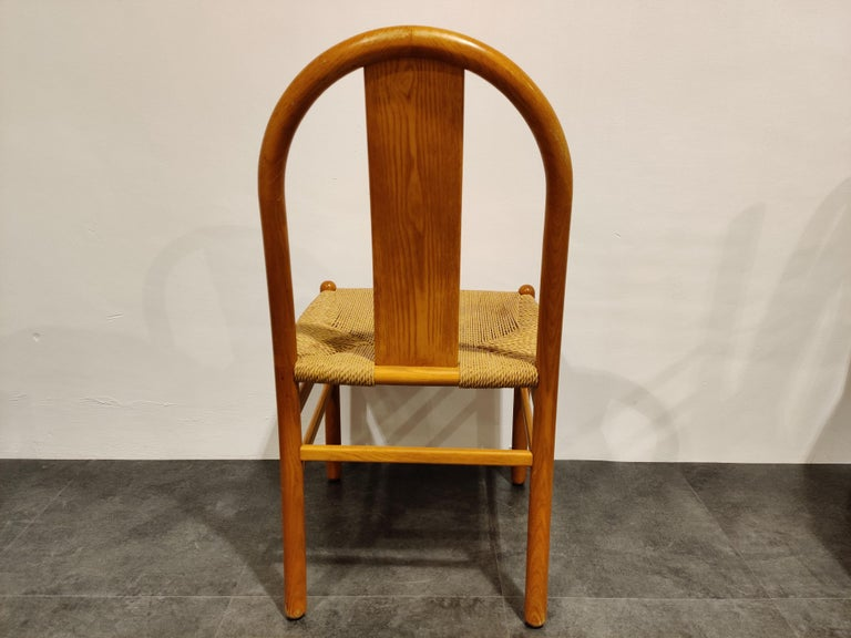 Midcentury Scandinavian Dining Chairs, Set of 4, 1960s For Sale 5