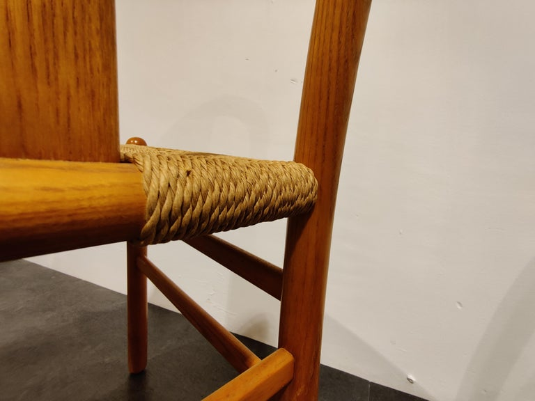 Midcentury Scandinavian Dining Chairs, Set of 4, 1960s For Sale 2
