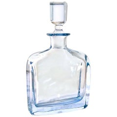 Mid-Century Scandinavian Modern Art Glass, Strombergshyttan Bottle & Stopper