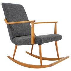 Midcentury Scandinavian Rocking Chair, Denmark, 1970s