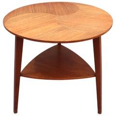 Midcentury Scandinavian Side Table, circa 1960s