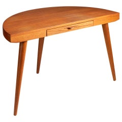Mid-Century Modern Demi-lune Tables