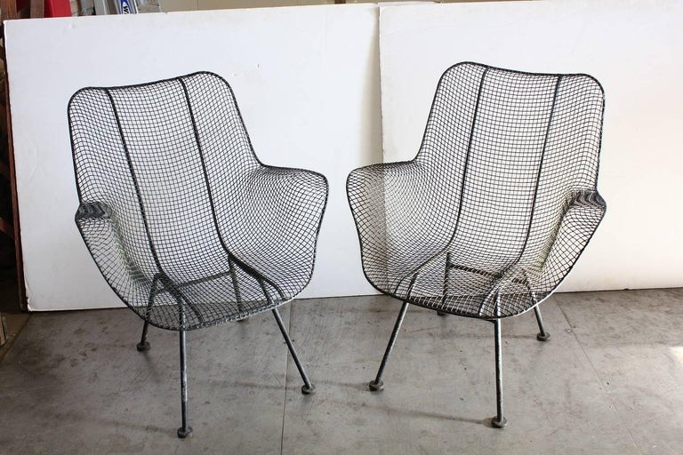 Mid Century Sculptura Lounge Chair By Woodard For Sale At
