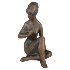 Mid-Century Sculpture by Bohumil Kokrda, 1960's