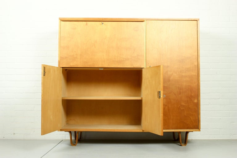 Mid-Century Modern Midcentury Secretary CB-01 by Cees Braakman for Pastoe, 1950s For Sale