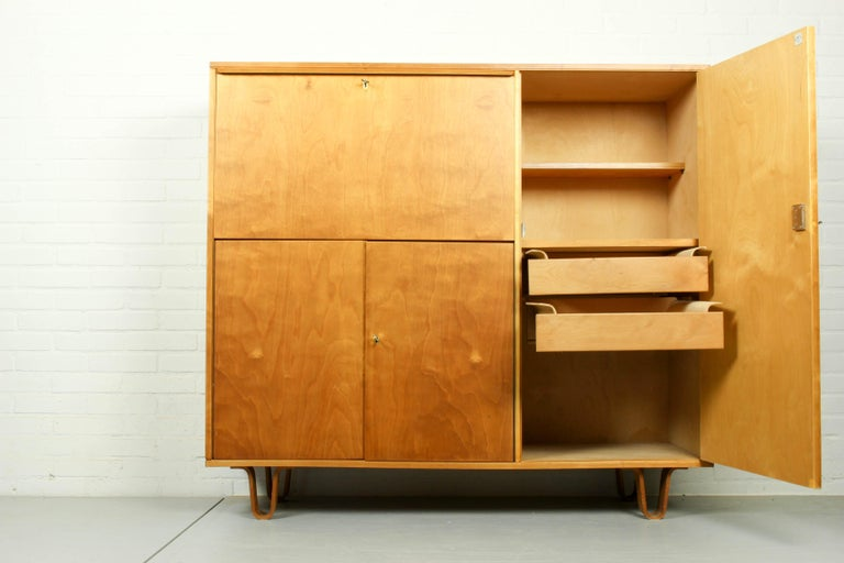 Dutch Midcentury Secretary CB-01 by Cees Braakman for Pastoe, 1950s For Sale