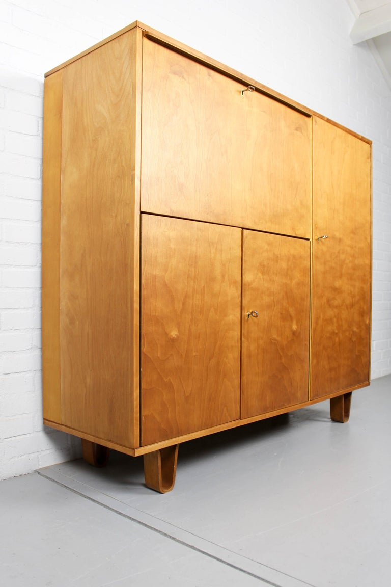 20th Century Midcentury Secretary CB-01 by Cees Braakman for Pastoe, 1950s For Sale