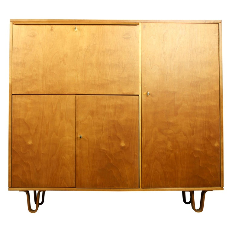 Midcentury Secretary CB-01 by Cees Braakman for Pastoe, 1950s For Sale