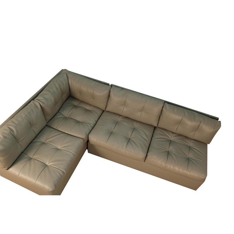 American Midcentury Sectional Sofa by Preview Vladimir Kagan Style For Sale