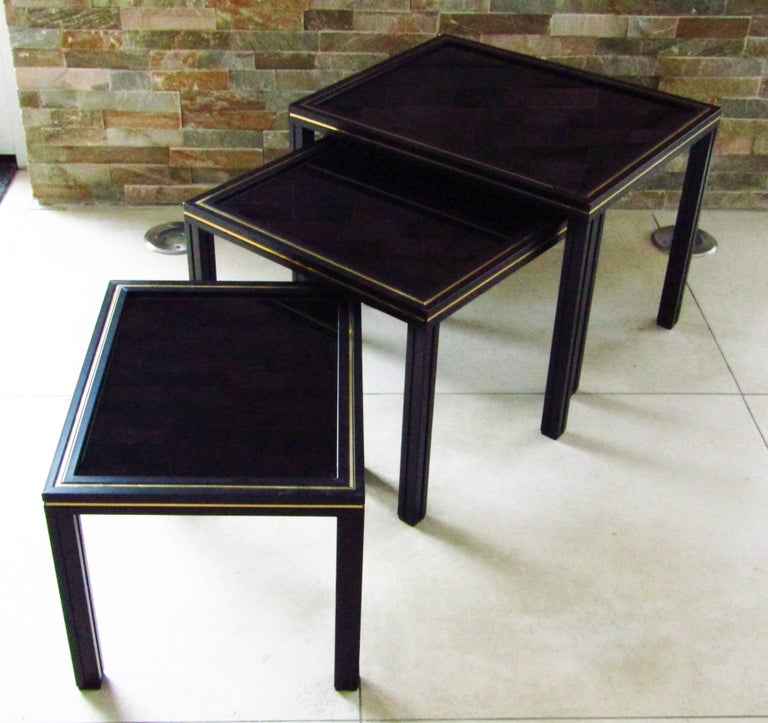 Midcentury Set of Nesting Tables by Pierre Vandel For Sale 3