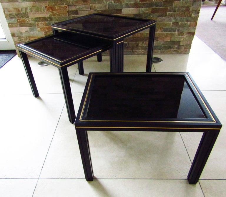 Midcentury Set of Nesting Tables by Pierre Vandel For Sale 2