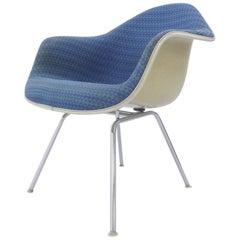 Midcentury Shell Chair, Charles Eames Herman Miller, Alexander Girard Fabric