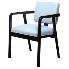 Mid Century Side/Arm Chair in Ebonized Walnut by George Nelson for Herman Miller