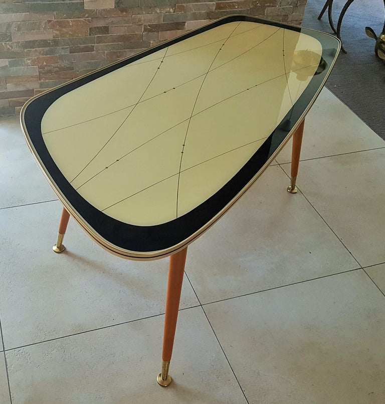 Midcentury Side Coffee Table, Germany, 1950s For Sale 8