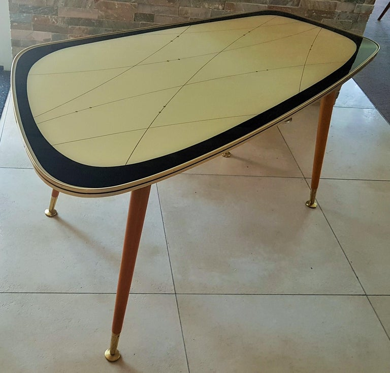 Midcentury Side Coffee Table, Germany, 1950s For Sale 9