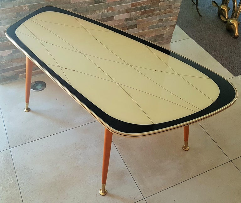 Midcentury Side Coffee Table, Germany, 1950s For Sale 10
