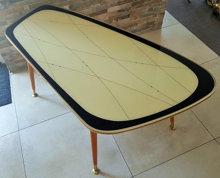 Midcentury Side Coffee Table, Germany, 1950s For Sale 11