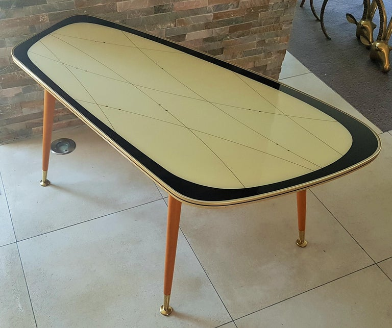 Midcentury Side Coffee Table, Germany, 1950s For Sale 12