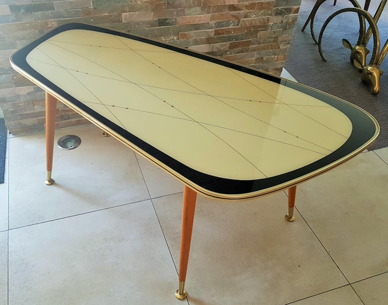 Midcentury Side Coffee Table, Germany, 1950s For Sale 13