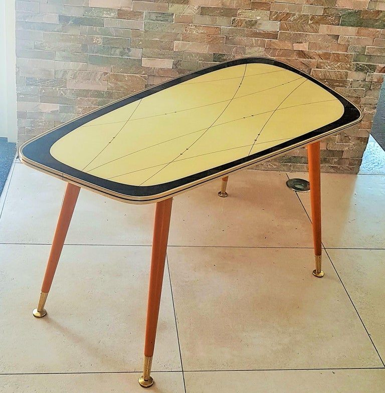Midcentury Side Coffee Table, Germany, 1950s For Sale 14