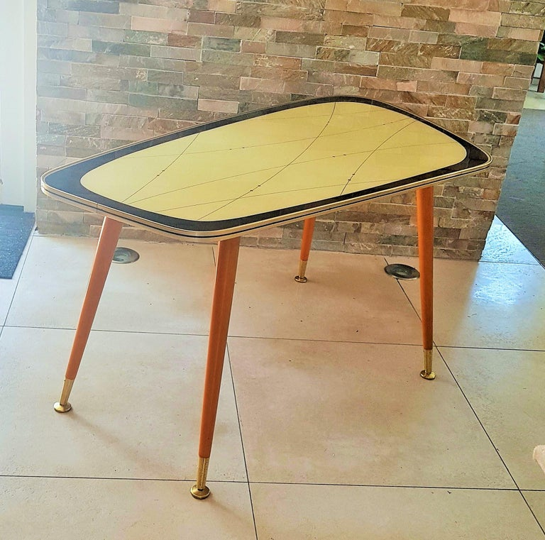 Mid-Century Modern Midcentury Side Coffee Table, Germany, 1950s For Sale