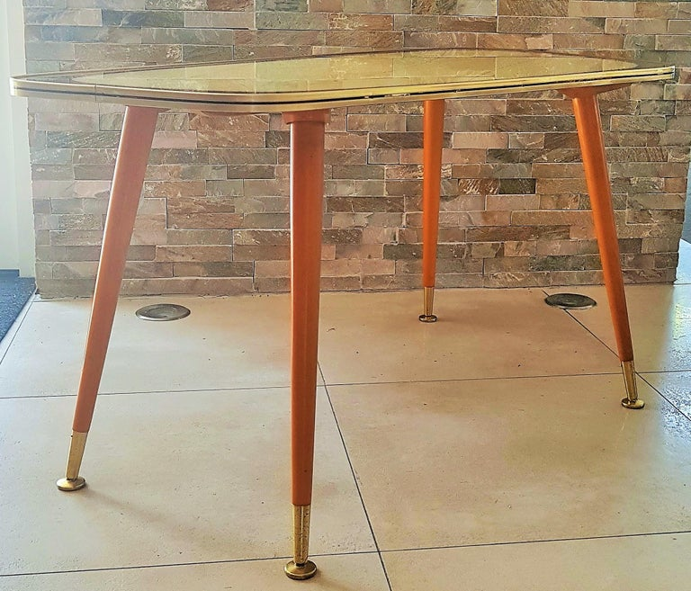 Midcentury Side Coffee Table, Germany, 1950s In Good Condition For Sale In Saarbruecken, DE