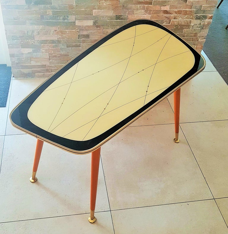 Mid-20th Century Midcentury Side Coffee Table, Germany, 1950s For Sale