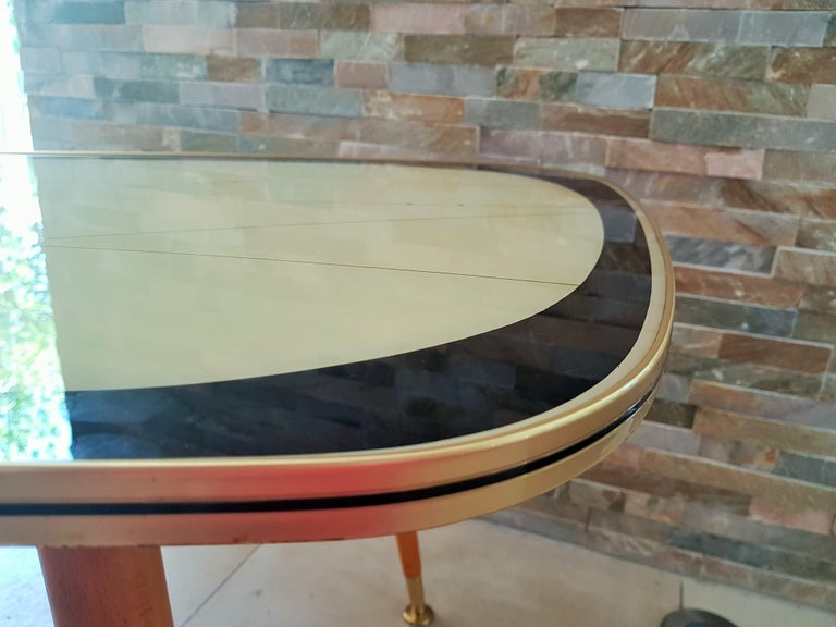 Midcentury Side Coffee Table, Germany, 1950s For Sale 3