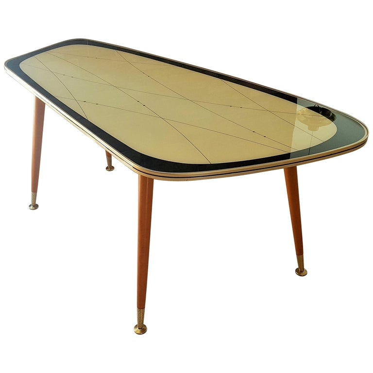 Midcentury Side Coffee Table, Germany, 1950s For Sale