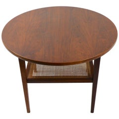 Mid Century Side Table in the Style of Jens Risom