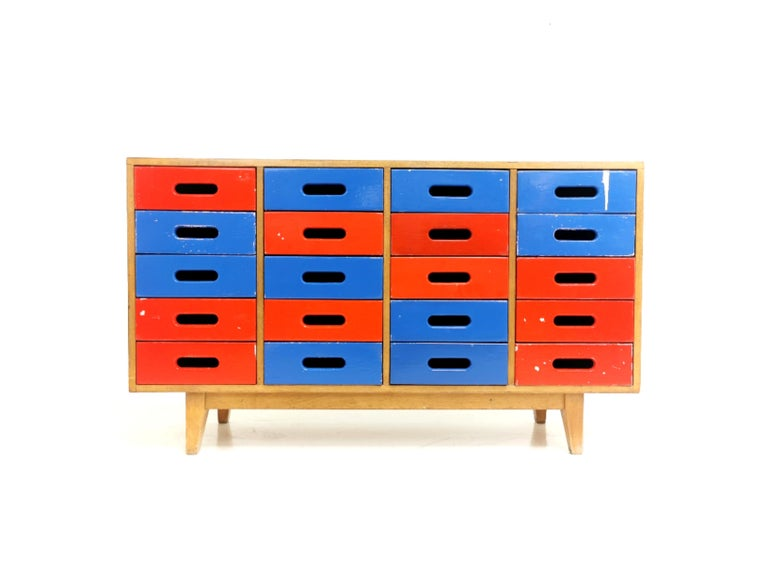 Midcentury Sideboard Chest of Drawers by James Leonard for Esavian 4