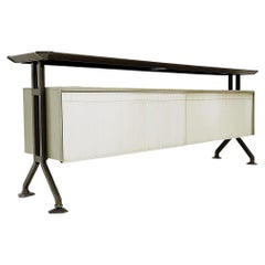 """Mid-Century Sideboard from the """"Arco"""" Series by Studio BBPR for Olivetti, Italy"""