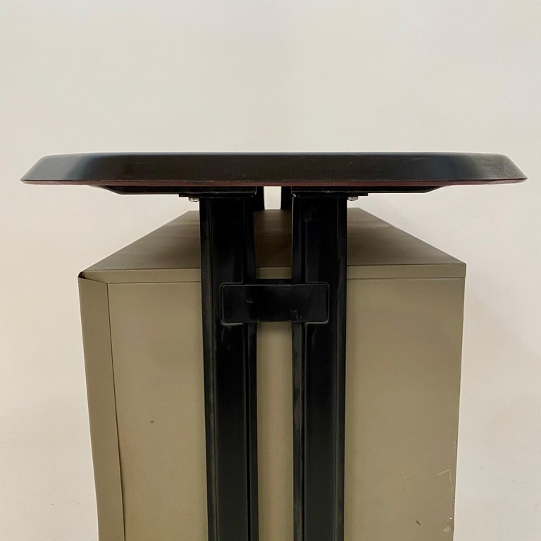 Midcentury Sideboard Office Cabinet by B.B.P.R. Arco for Olivetti, Italy, 1963 For Sale 3