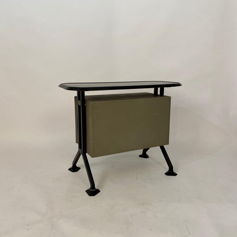 Midcentury Sideboard Office Cabinet by B.B.P.R. Arco for Olivetti, Italy, 1963 For Sale 6