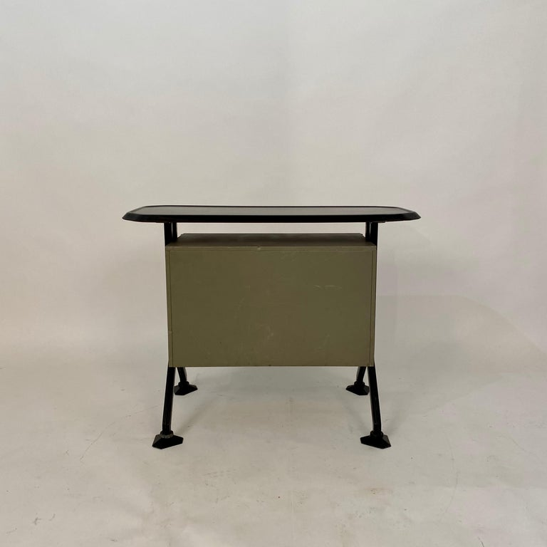 Midcentury Sideboard Office Cabinet by B.B.P.R. Arco for Olivetti, Italy, 1963 For Sale 7