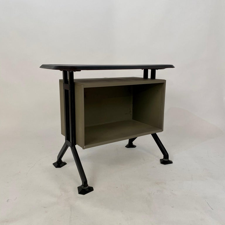 Midcentury Sideboard Office Cabinet by B.B.P.R. Arco for Olivetti, Italy, 1963 For Sale 10