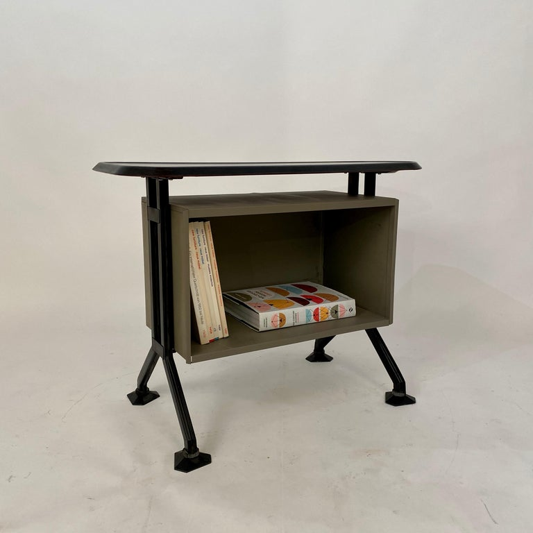 Midcentury Sideboard Office Cabinet by B.B.P.R. Arco for Olivetti, Italy, 1963 For Sale 11