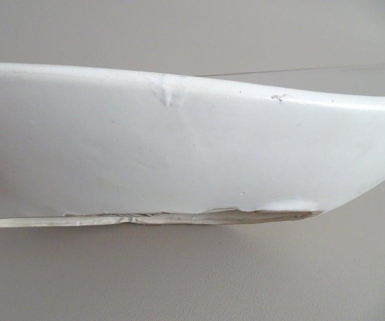 Mid-20th Century Midcentury Signed Roger Capron Ceramic Bowl, Center Piece, Vallauris, 1950s For Sale