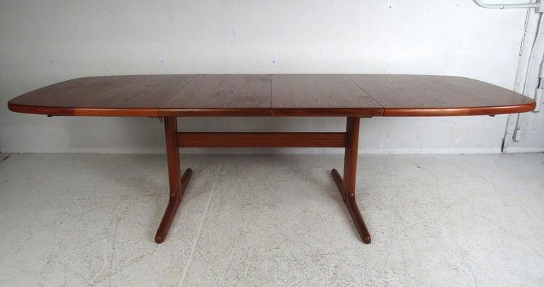 Mid-Century Modern Midcentury Skovby Danish Teak Dining Table For Sale