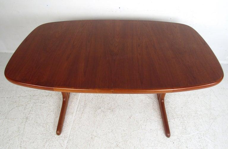 Mid-20th Century Midcentury Skovby Danish Teak Dining Table For Sale