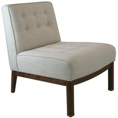 Mid-Century Slipper Chair