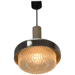 Midcentury Small Chandelier by Napako, 1970s