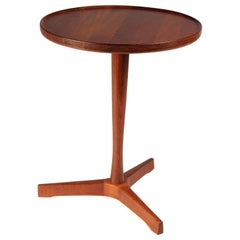 Scandinavian Modern Danish Teak Side Table Designed by Hans Andersen