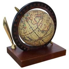 Midcentury Small Globe, circa 1980s
