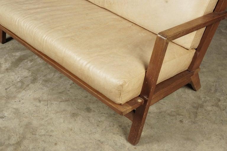 European Vintage Midcentury Bas Van Pelt Sofa from Holland, circa 1960 For Sale