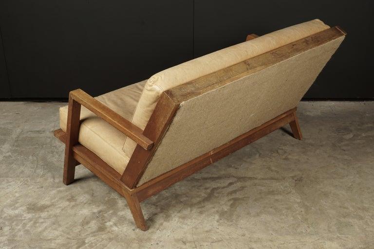 Mid-20th Century Vintage Midcentury Bas Van Pelt Sofa from Holland, circa 1960 For Sale