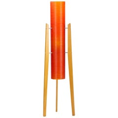 Mid Century Space Age Rocket Floor Lamp, Czechoslovakia, 1960s