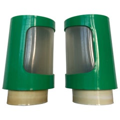 Midcentury Space Age Style Table Lamps Cosmonauts, 1970s