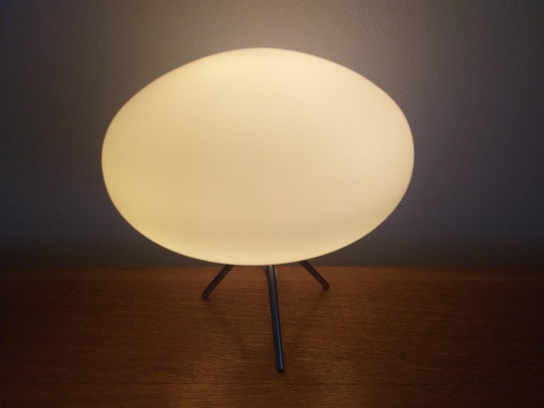 Midcentury Space Age Table Lamp, Italy, 1980s For Sale 7