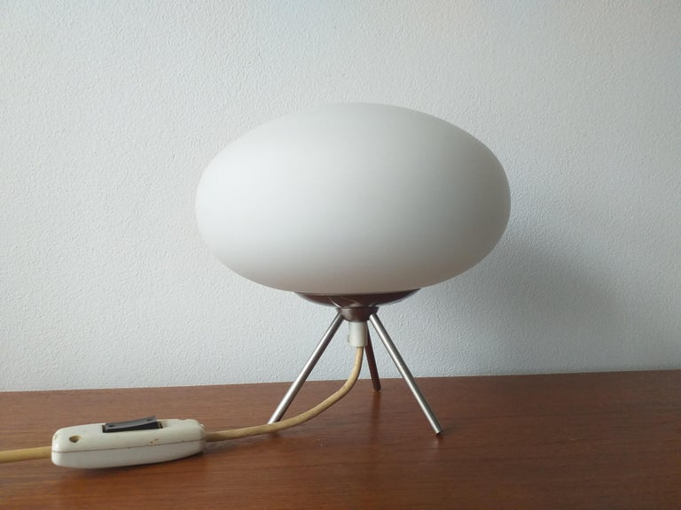 Italian Midcentury Space Age Table Lamp, Italy, 1980s For Sale